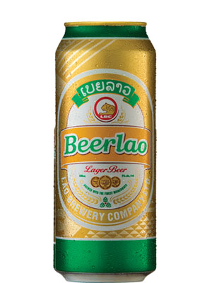 Beerlao Premium Lager Cans 500mL