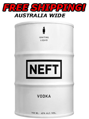 Neft Vodka Barrel - White
